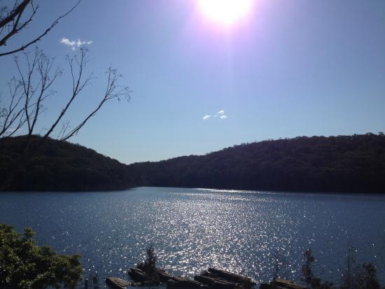 Woronora, Australia: View from Picnic Grounds and BBQ