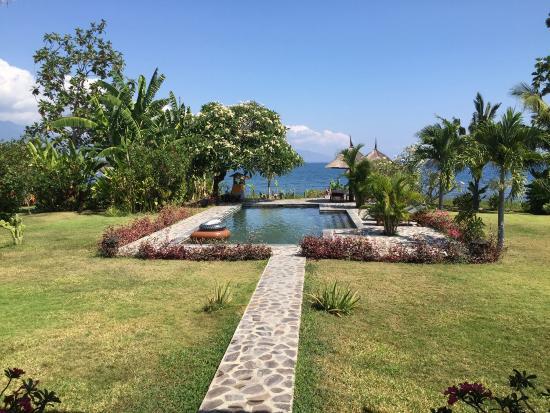 Kundalini Beach Houses : De 'achtertuin'