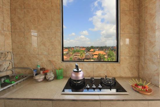 Goutama Homestay: Iman Ubud Bali Sharing Kitchen
