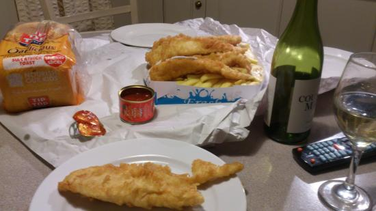 Oppie's Fish & Chips : Kiwi Fare
