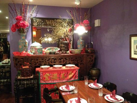 Table Setting - Picture Of Lhh Straits Chinese Kitchen, Kuala