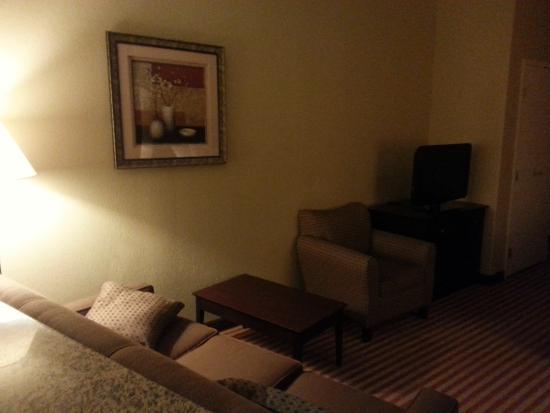 Comfort Suites Medical Center near Six Flags : Suite area
