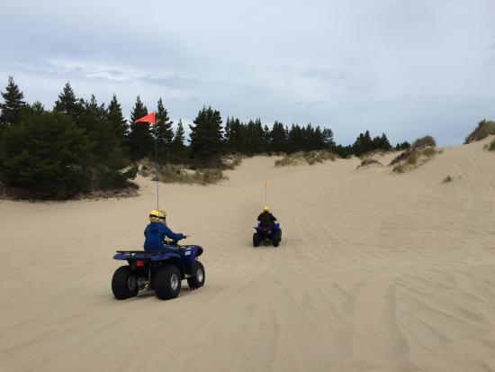 Lakeside, OR: Quadding Oregon Dunes with Spinreel Vehicles