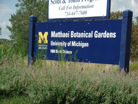 Matthaei botanical gardens part of the university of michigan picture of matthaei botanical for University of michigan botanical gardens