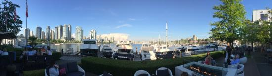 Dockside Restaurant & Brewing Company: Panoramic View from Patio