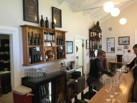 Waiheke Island, New Zealand: In the Winery Shop