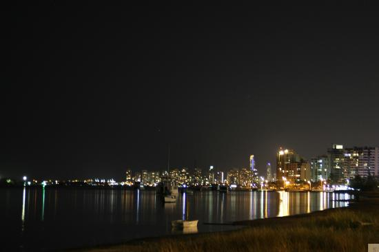 Crystal Bay on the Broadwater: View from the front of the complex