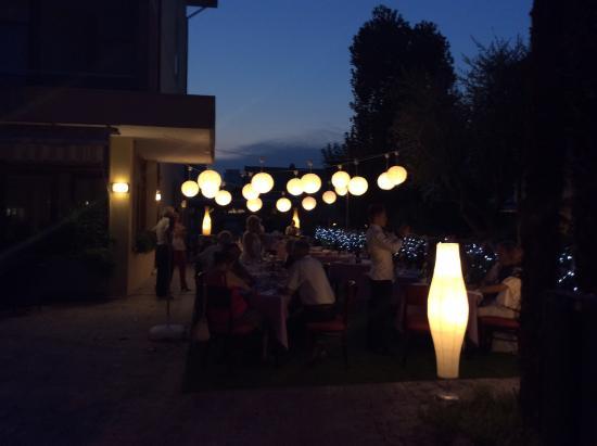 Hotel Terme Dolomiti: Cena sotto le stelle