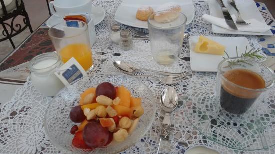 Casa Buonocore: breakfast