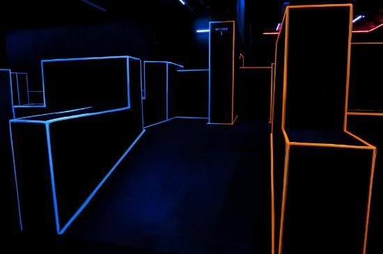 Tron Laser Arena