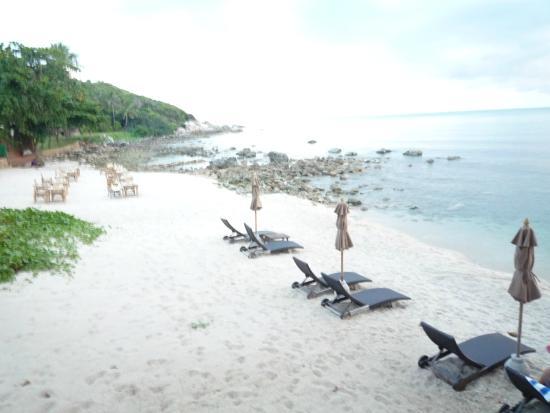Outrigger Koh Samui Beach Resort Strand