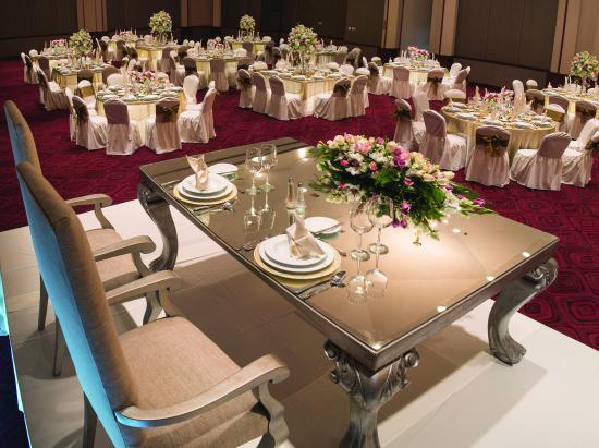 راديسون هوتل فلامينجوز مكسيكو سيتي: Wedding-Table