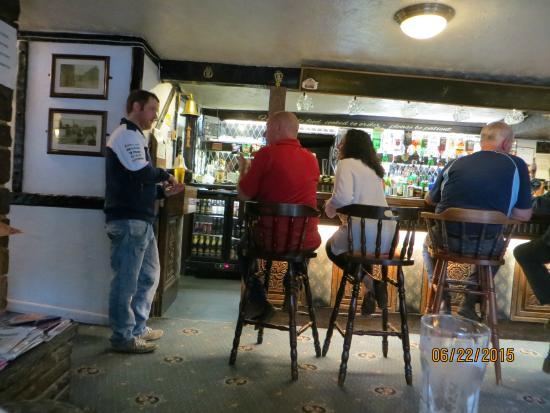 Masons Arms : The bar