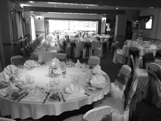 The Half Moon: Wedding Reception