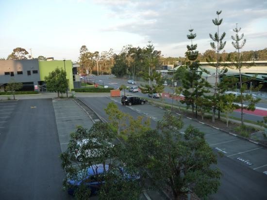 Travelodge Hotel Garden City Brisbane: View from our room