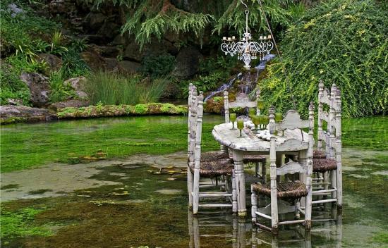 Fleur photo de jardin des fontaines petrifiantes la - Le jardin des fontaines petrifiantes ...