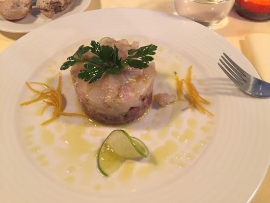 la canne en ville: Tuna & bar tartare, duck, dorade...