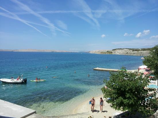 Vila 4m: La spiaggia di fronte all'hotel