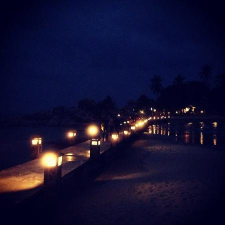 Pulau Bangka, Indonesia: suasana di malam hari
