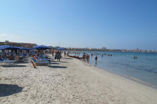 Picale Apartments: stranden vid hotellet