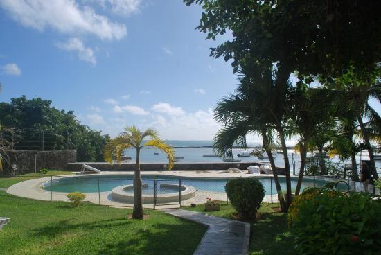 Villa Banyan : vue depuis la terrasse
