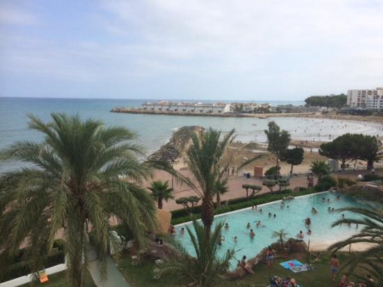Hotel Montsouris Orleans: Vue de la chambre VIP 2ème étage