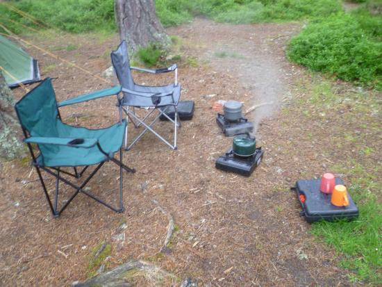 Rothiemurchus Camp and Caravan: Our camp