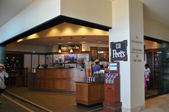 Peet's Coffee & Tea Sheraton Waikiki: 外観