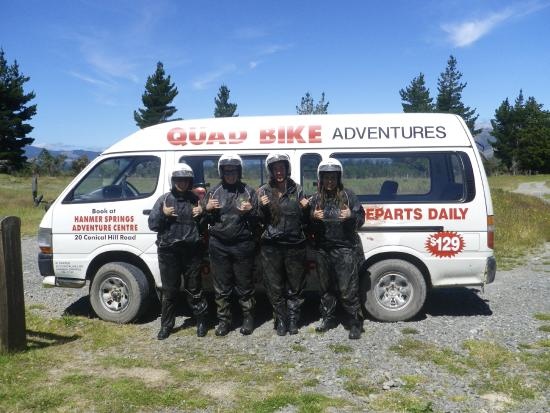 Hanmer Springs Adventure Centre : My friends and I