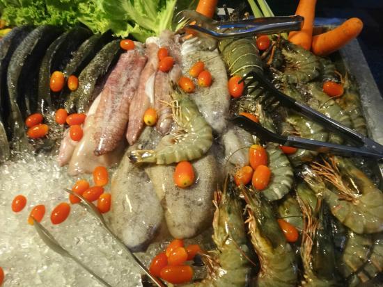 Nakamanda Resort & Spa: 夕食のBBQです。
