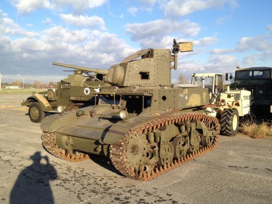 Huntsville, AL: M3 Stuart tank