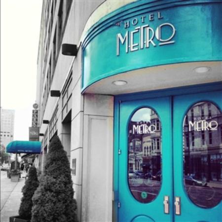 Hotel Metro : Entrada