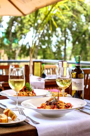 Mediterraneo Ristorante: Our upstairs outdoor dining area.
