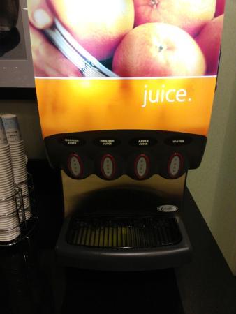 Anderson, ساوث كارولينا: juice station