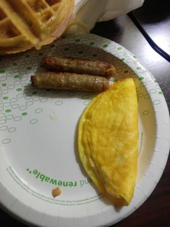 Anderson, ساوث كارولينا: breakfast