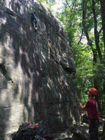 Hard Rock Climbing