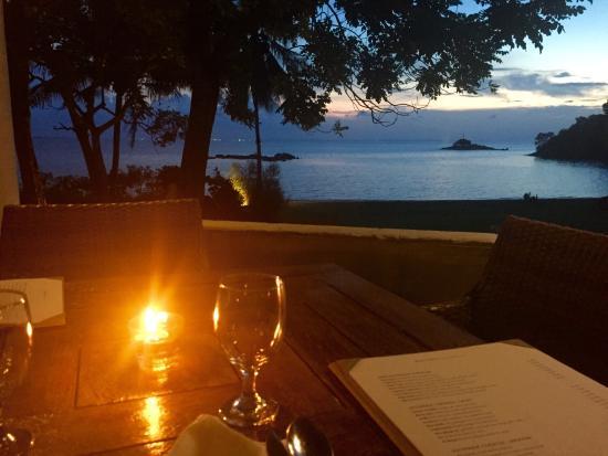 Baan Aarya : Sitting on the terrace. Lovely!