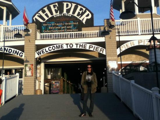 Old Orchard Beach Pier Picture Of
