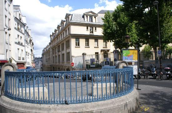 Montagne Sainte Genevieve Rue De La Et Ecole Polytechnique