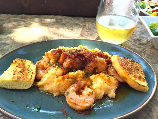 Bistro on Main: Shrimp & Grits with Applewood Smoked Bacon