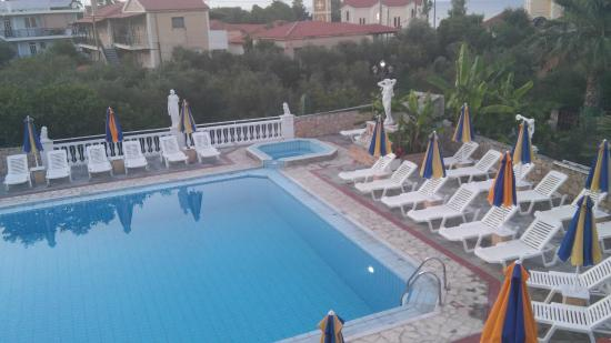 Anamar Zante Hotel : the view from our room