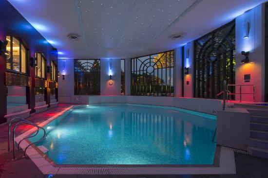 Swimming Pool At Night Picture Of Crowne Plaza Gerrards