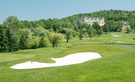 Golf Chateau Bromont: Vue du Château Bromont