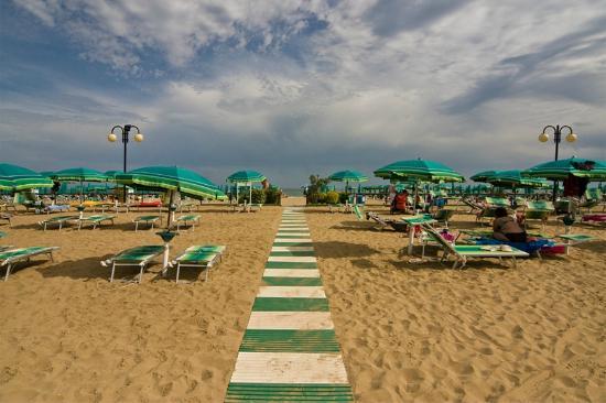 Hotel Janeiro: Spiaggia privata