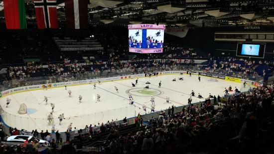 Ostravar Arena: inside