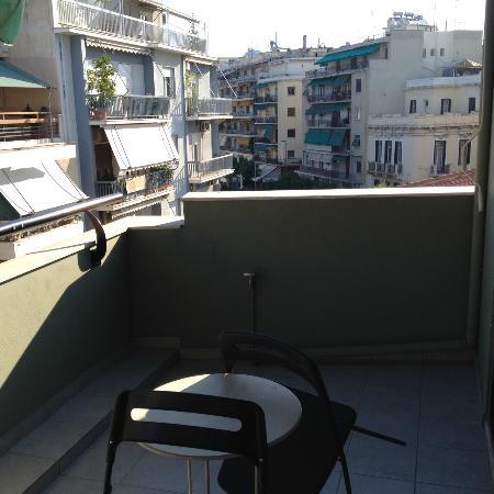 Athens Studios: Big balcony