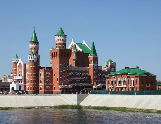 Yoshkar-Ola, Russia: набережная