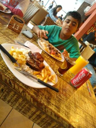 Costillas Grill: almoço delícioso!.