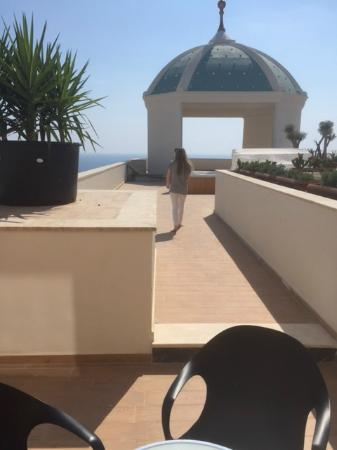 Litore Resort Hotel & Spa: Our roof top terrace Jacuzzi suite looking to the sea