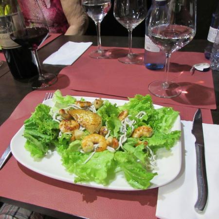 Taberna Pulperia Atarazana: salada